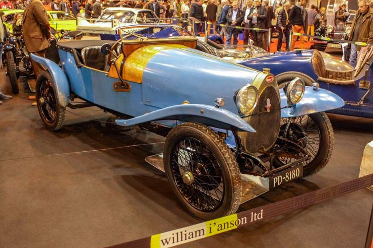 bugatti type 23 crossley